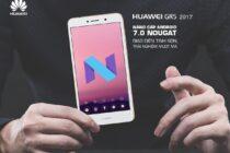Huawei GR5 2017 Pro giảm còn 7 triệu, sẽ nâng Android 7 trong tháng 5 này