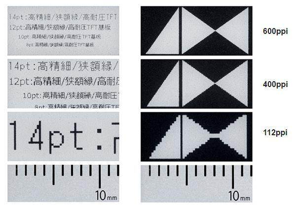 Japan Display phát triển màn hình E Ink với độ phân giải 600 ppi