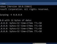 Dòng lệnh đơn giản giúp kiểm tra độ ổn định của kết nối Internet (Windows)