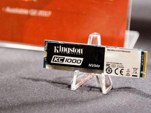 Kingston giới thiệu ổ SSD PCIe NVMe KC1000 có dung lượng tới 960GB