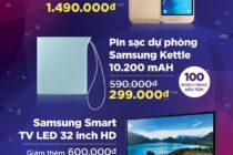 Lazada sắp có ưu đãi cho các sản phẩm Samsung chính hãng