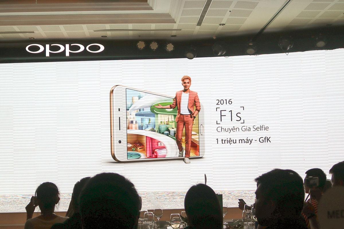 Oppo F3 với camera kép selfie góc rộng ra mắt, giá 7,5 triệu đồng