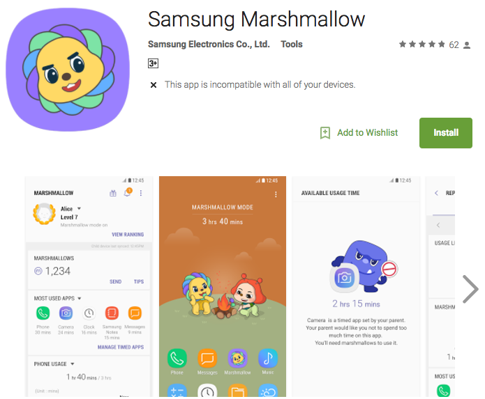 Samsung tung ứng dụng quản lý con cái, chỉ hỗ trợ máy Galaxy và Note