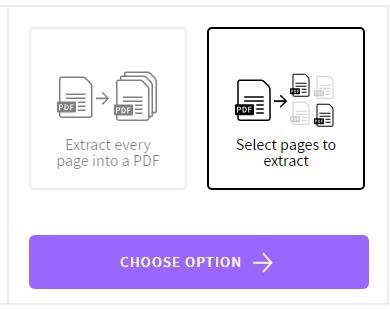 Chọn tùy chọn rồi bấm Choose Option nhé