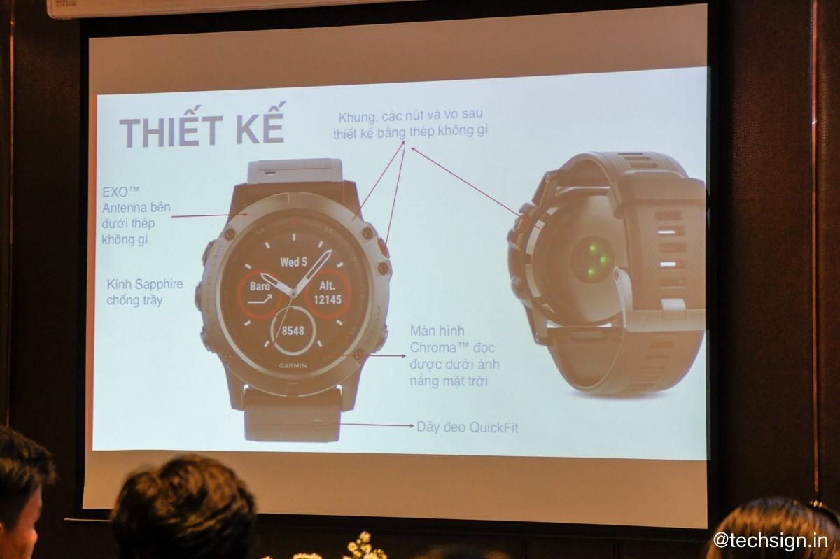 FPT Trading giới thiệu đồng hồ thông minh Garmin cao cấp mới