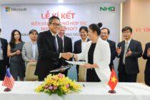 Microsoft và Nguyễn Hoàng hợp tác hỗ trợ phát triển trường học hiện đại