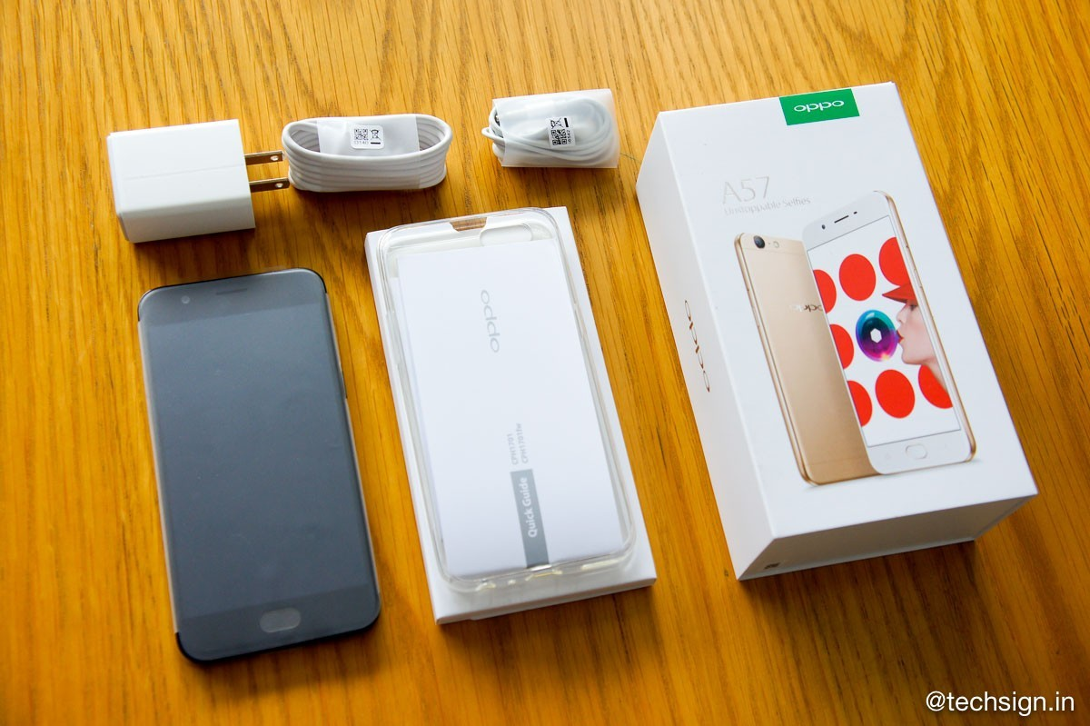 Mở hộp Oppo F3 Lite: vẫn không đổi so với các đàn anh