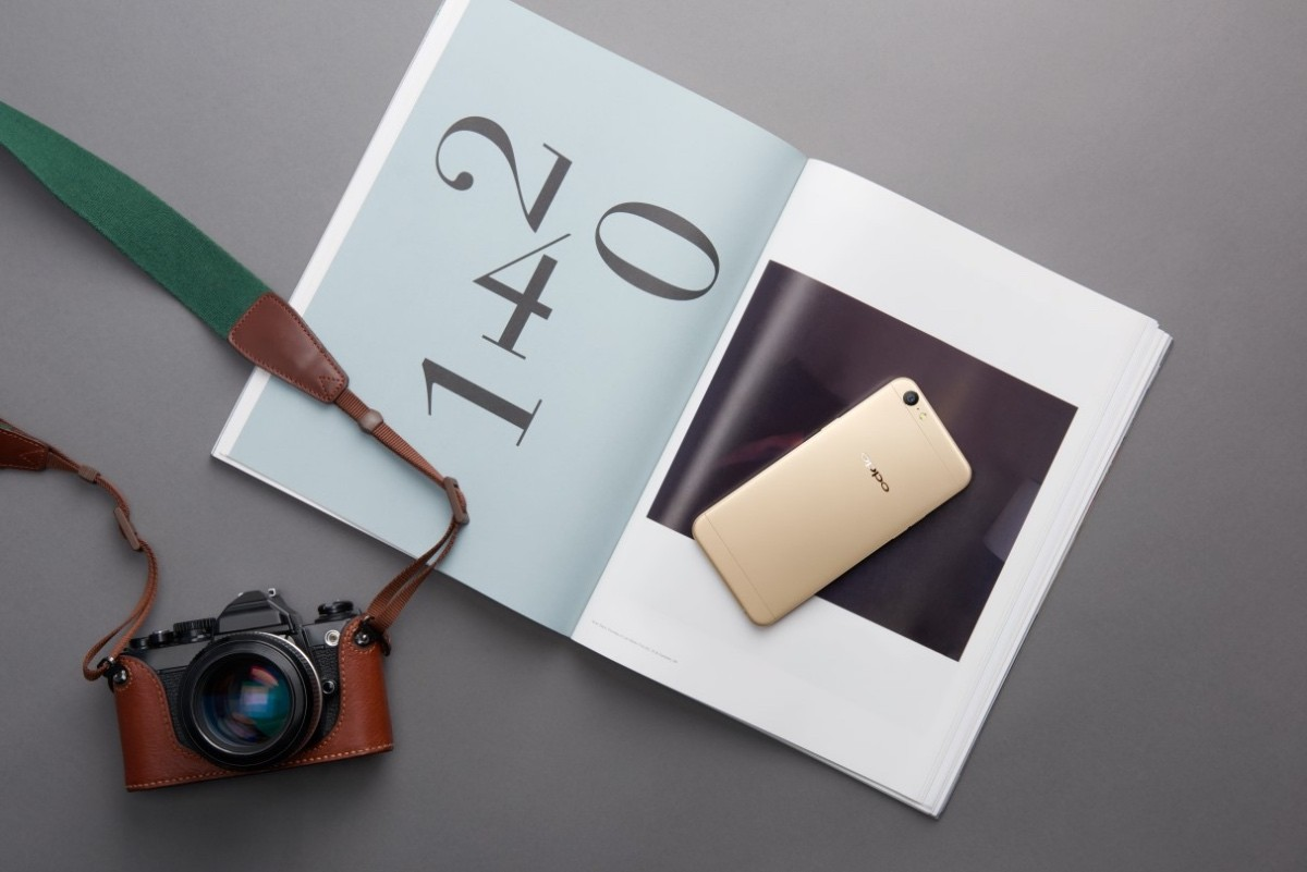 OPPO F3 Lite (A57) lên kệ từ 13/6, giá 5,5 triệu đồng