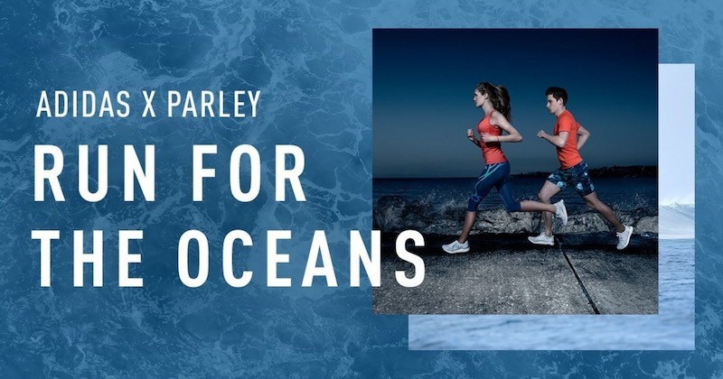 Cuộc chạy bộ vì môi trường biển Adidas x Parley Run for the Oceans