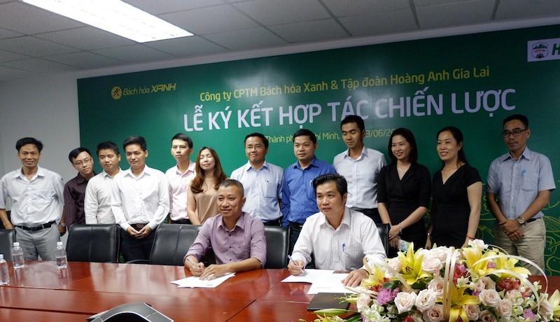 Bách hóa Xanh ký kết chiến lược với Tập đoàn Hoàng Anh Gia Lai