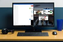 Chia màn hình để quản lý công việc trên Windows 10