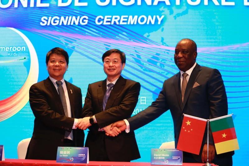 Huawei Marine ký hợp đồng xây dựng Hệ thống cáp liên kết nối Nam Đại Tây Dương