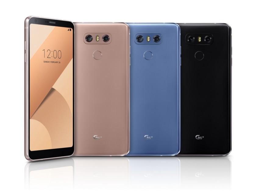 LG G6 Plus ra mắt, có 4 màu với RAM 6GB, 128GB bộ nhớ