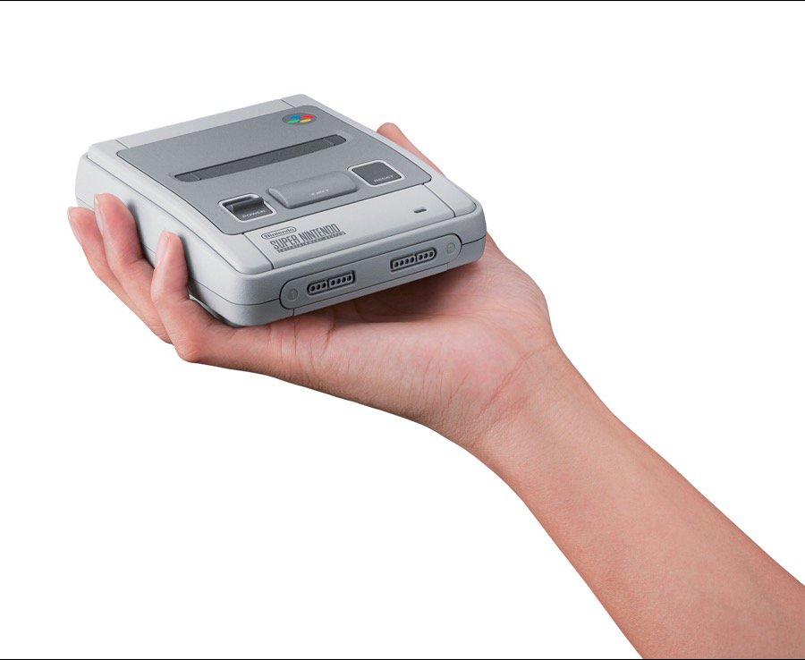 Nintendo bán máy chơi điện tử SNES Classic mini vào tháng 9 với giá 80 USD