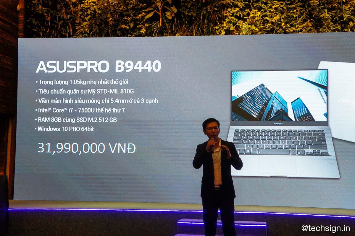 ASUS ra mắt loạt laptop mới siêu mỏng nhẹ, giá từ 12,5 triệu đồng
