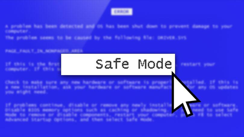 Dùng Safe Mode chẩn đoán bệnh máy tính