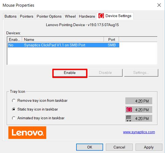 5 cách xử lý khi touchpad laptop không hoạt động