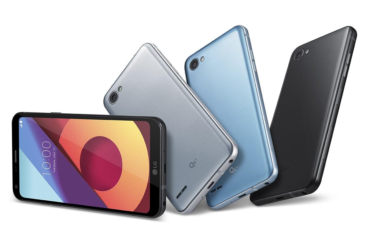 LG chính thức ra mắt ba smartphone LG Q6, Q6a và Q6 Plus