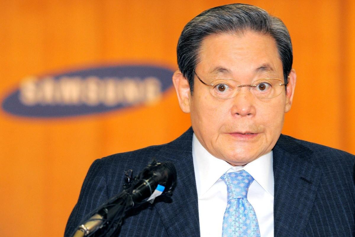 Chủ tịch tập đoàn Samsung vào top 50 người giàu nhất thế giới