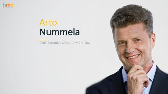 Arto Nummela bất ngờ rời khỏi vị trí CEO HMD Global