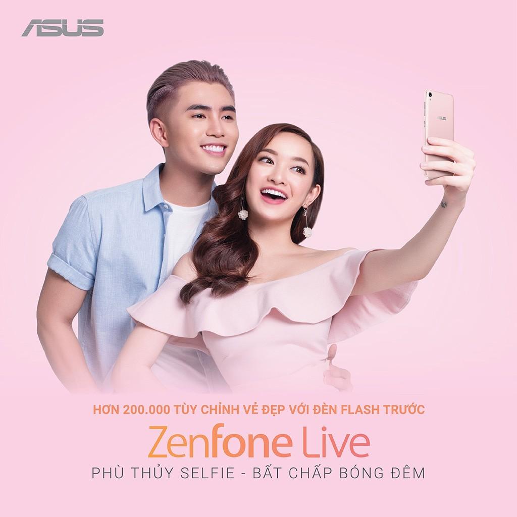 ZenFone Live giảm giá 700.000, còn 2.990.000 đồng
