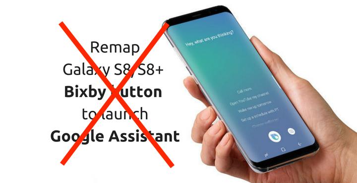 Bản cập nhật mới trên Galaxy S8 chặn lập trình viên đổi chức năng nút Bixby