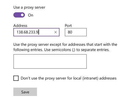 Cách fake IP trên trình duyệt Edge
