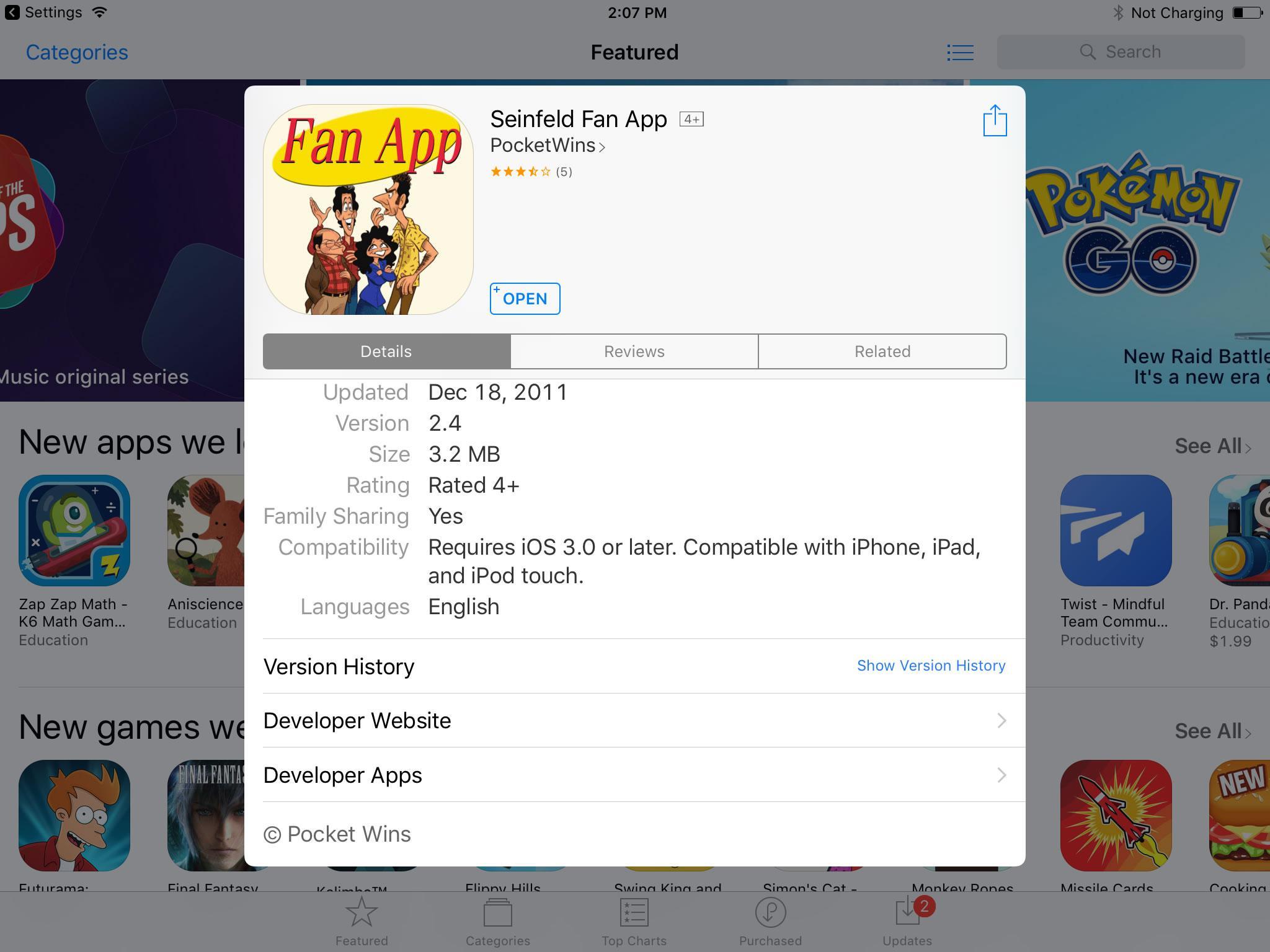 Nhận diện các ứng dụng không hoạt động trên iOS 11
