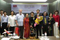 Canon tiếp tục tài trợ cho cuộc thi ảnh Vietnam Heritage Photo Awards 2017