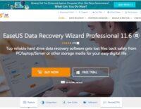 Phục hồi dữ liệu dễ dàng với EaseUS Data Recovery Wizard Professional