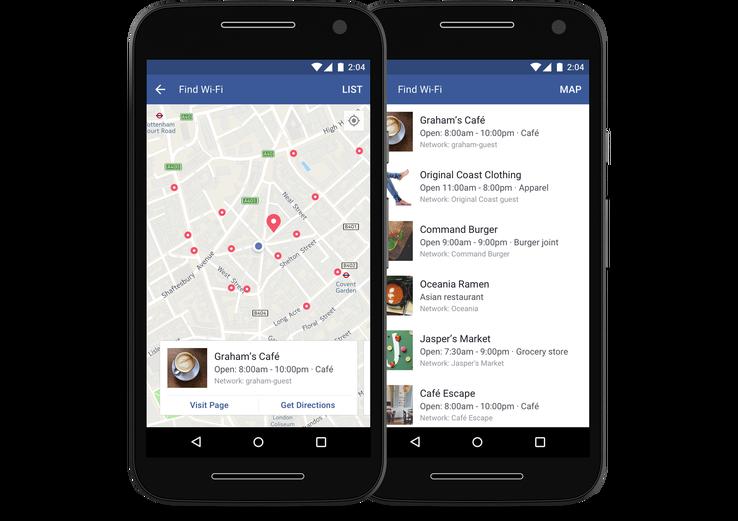 Facebook ra tính năng tìm WiFi miễn phí trên toàn thế giới