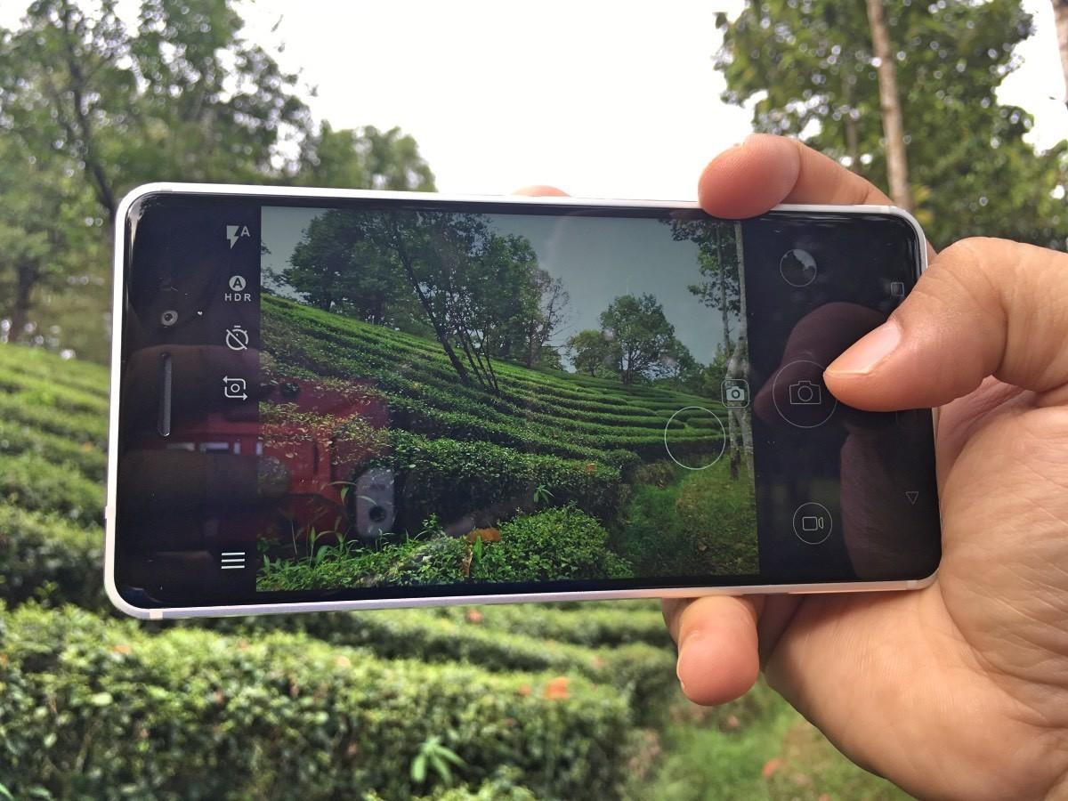 Giao diện ứng dụng camera trên Nokia 6