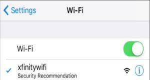 """Vì sao iPhone hiện cảnh báo """"Security Recommendation"""" khi kết nối Wi-Fi?"""