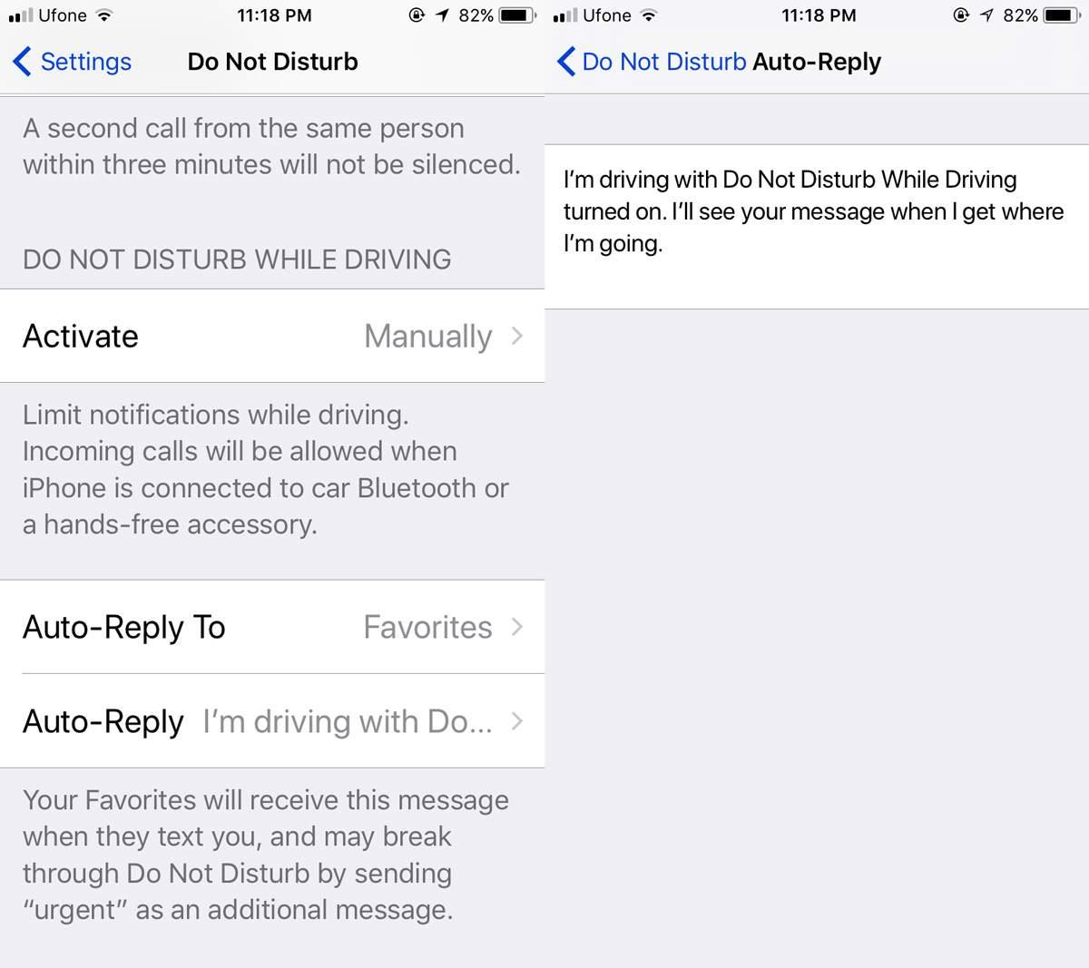 Cách dùng tính năng Không làm phiền khi lái xe trên iOS 11