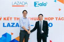 Lazada hợp tác Zalo mở thêm kênh tương tác với khách hàng