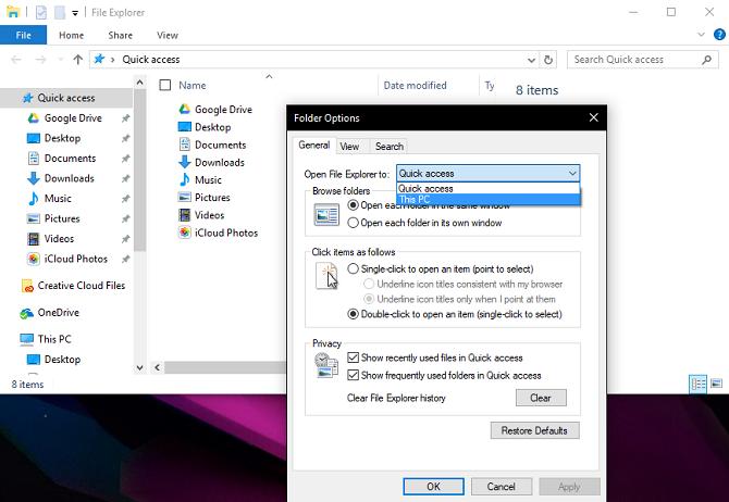 "Khắc phục lỗi ""Working On It"" của File Explorer trên Windows 10"