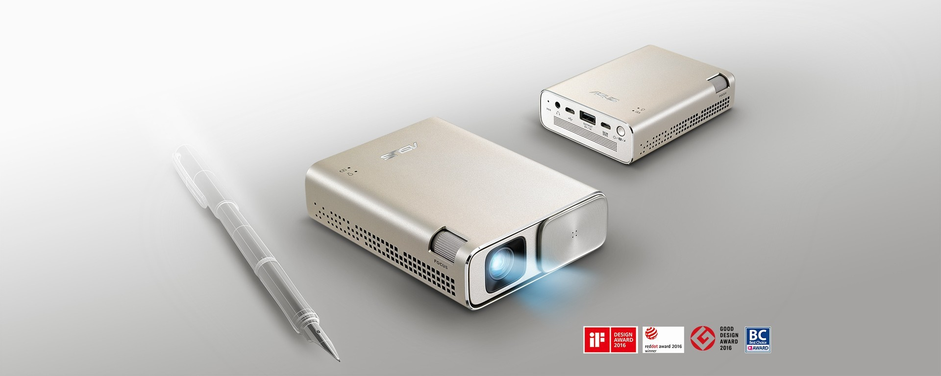 ASUS ra mắt máy chiếu bỏ túi ZenBeam Go E1Z