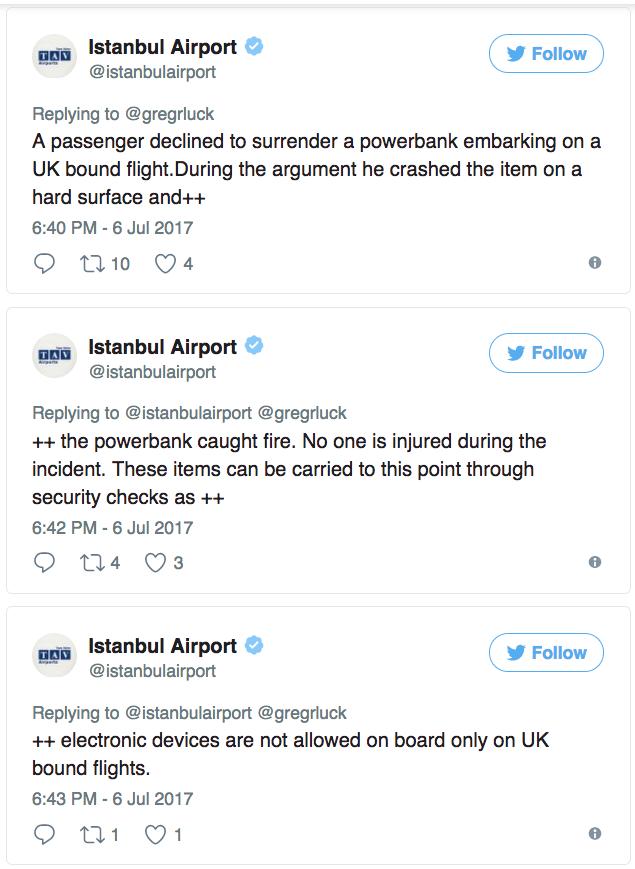 Tức giận vì không cho mang pin dự phòng lên máy bay, người đàn ông ném xuống đất và cái kết không ngờ