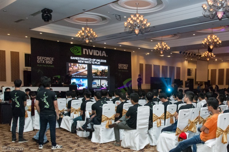 Hình ảnh sự kiện Nvidia Gamer's Day