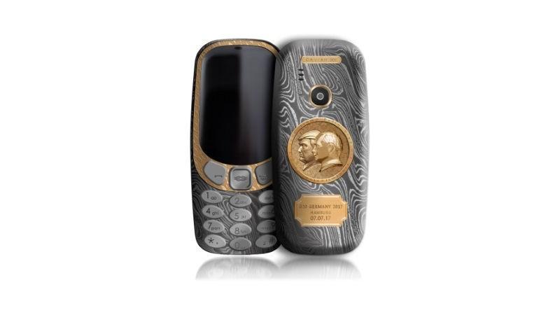 Nokia 3310 siêu sang giá 2.500 USD