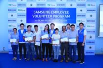 Tình nguyện viên Samsung và dự án hỗ trợ Trường trung cấp nghề Quang Trung
