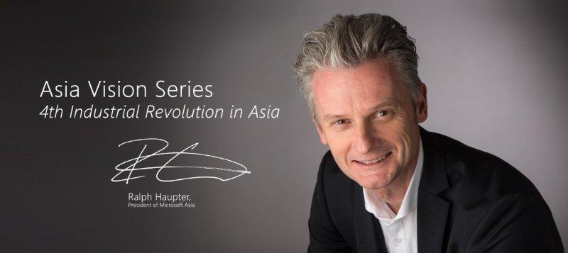 ông Ralph Haupter, Chủ tịch Microsoft Châu Á