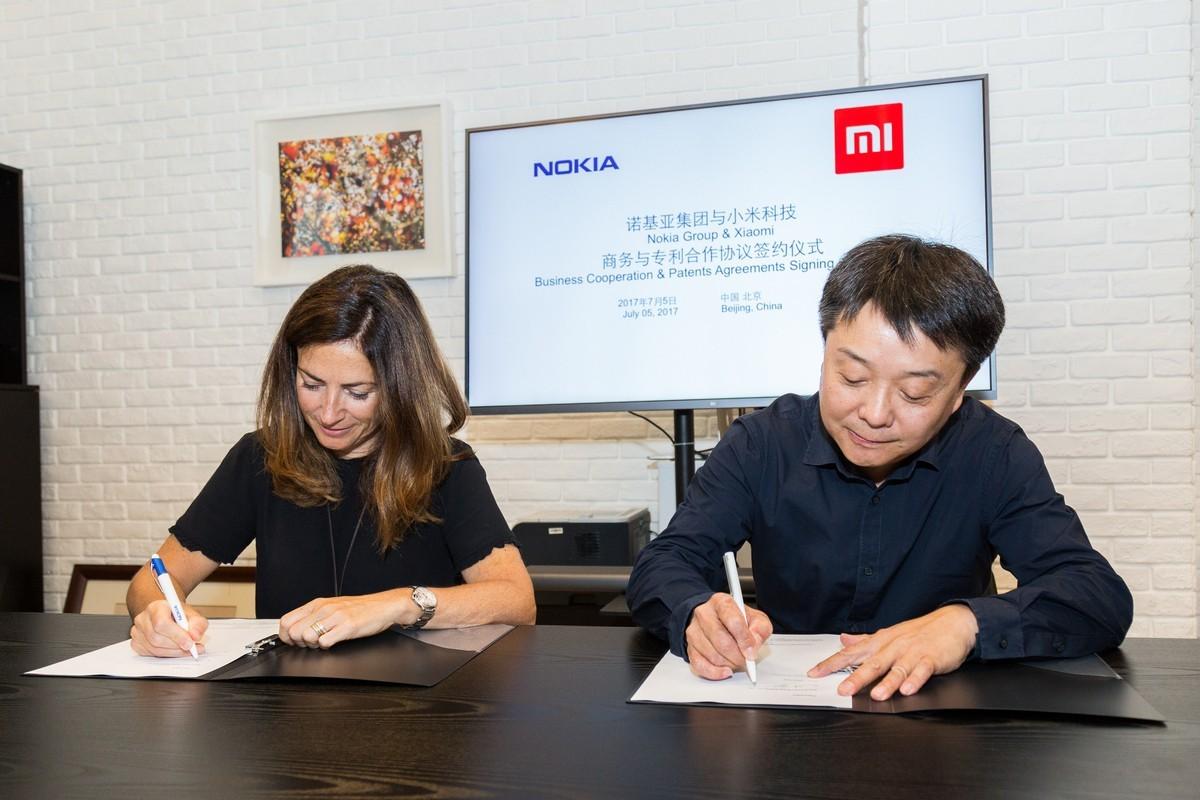Xiaomi trao đổi và sử dụng bằng sáng chế với Nokia