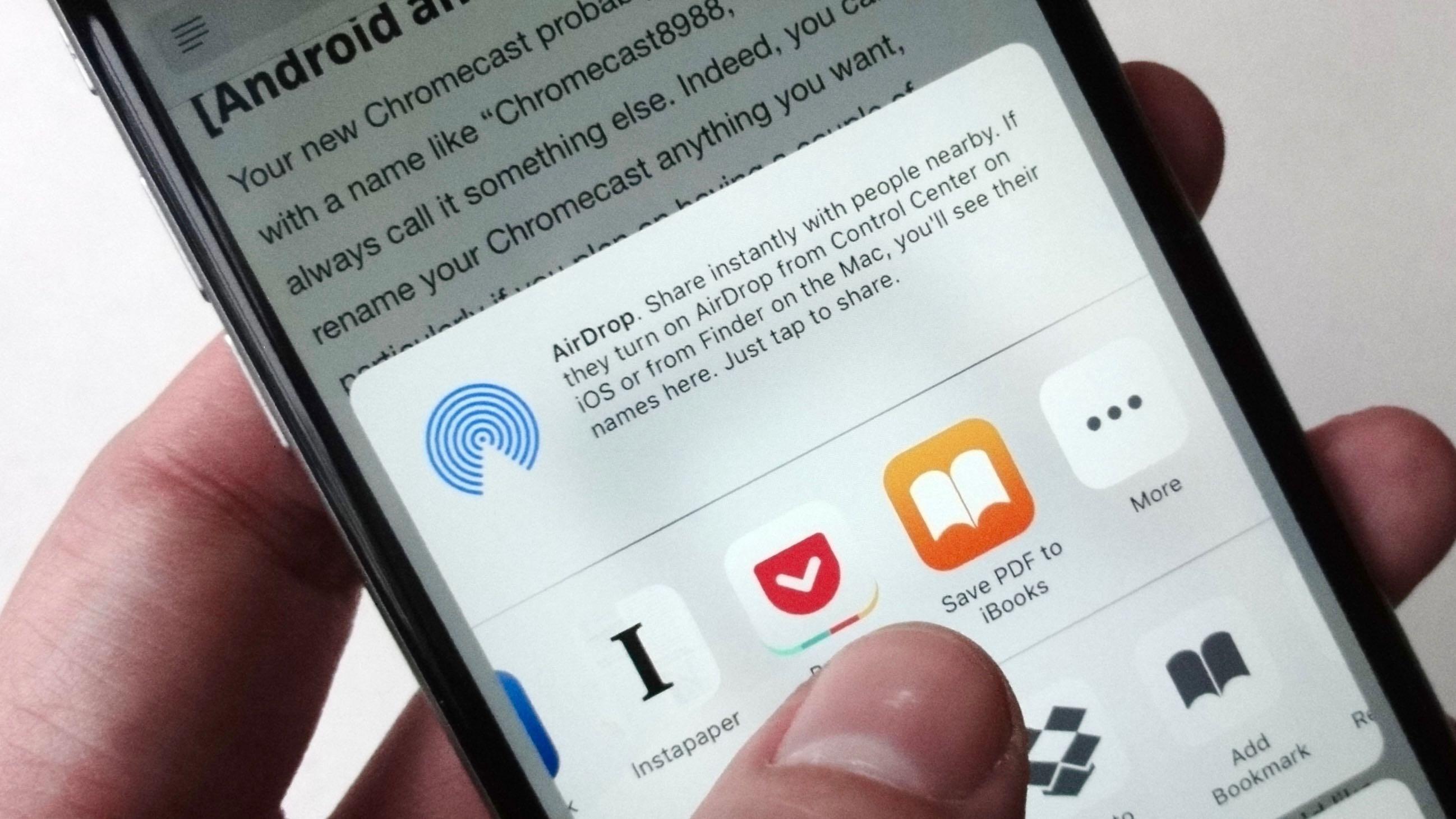 4 cách lưu lại trang web trên Android hoặc iPhone