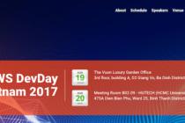 Sắp diễn ra hội thảo DevDay của Amazon Web Services