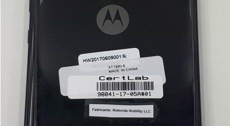 Moto X4 rò rỉ ảnh chụp thực tế