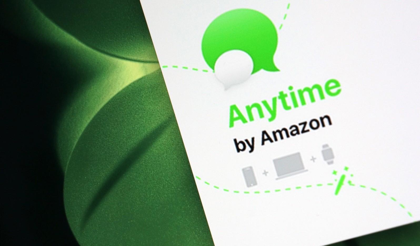 Amazon phát triển trên nền tảng nhắn tin mới Anytime