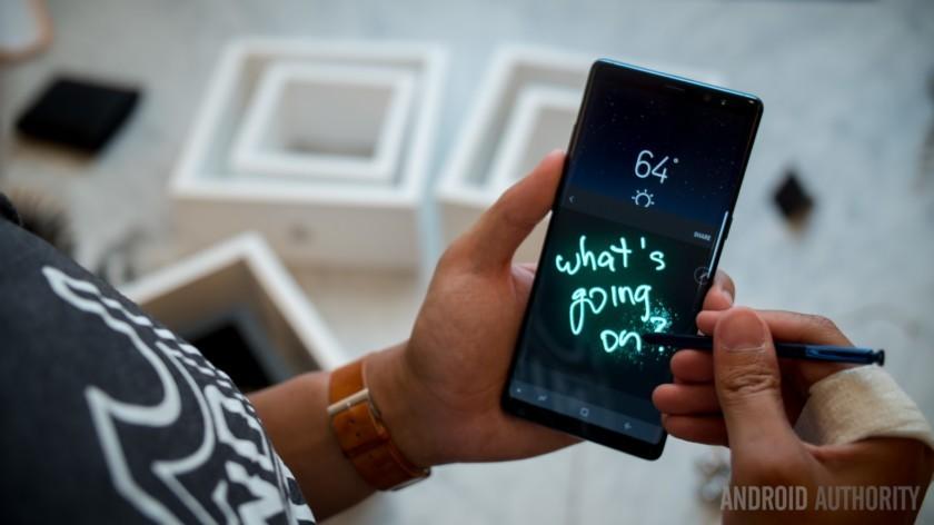 Những đánh giá đầu tiên về Samsung Galaxy Note8