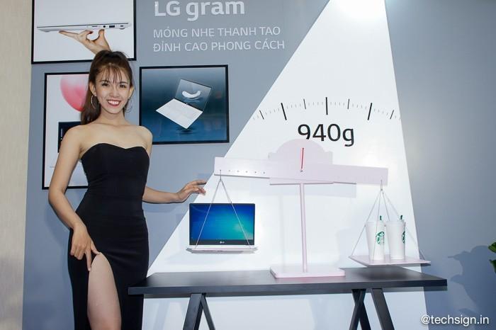 Hình ảnh laptop LG gram mới