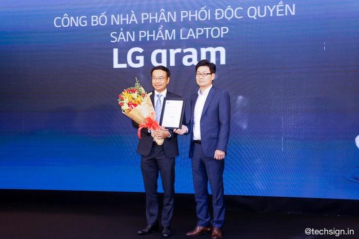 Digiworld phân phối độc quyền laptop LG gram tại Việt Nam